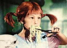 Movies - Pippi Longstocking by 9teen87's Postcards, via Flickr