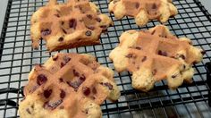 How To Bake Chocolate Chip Cookies In The Waffle Iron