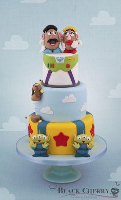 Toy Story Wedding Cake - by littlecherry @ CakesDecor.com - cake decorating website