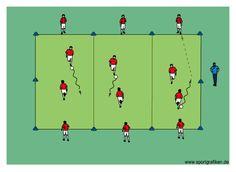 http://www.top-soccer-drills.com/1v1-goal-line-targets.html #soccer #youth #coach