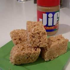 Peanut Butter Rice Krispie Treats