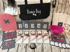 20 Person PREMIUM Bunco Party Game Starter Kit: Table numbers, score cards, nametags and more! Instructions and tips on running your Group. by TheBuncoEuchreQueen on Etsy https://www.etsy.com/listing/511923481/20-person-premium-bunco-party-game