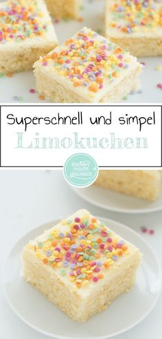 Confetti cake from the plate- Konfetti-Kuchen vom Blech This colorful confetti cake provides a good mood! No matter whether you bake the Funfettikuchen from the tin to the children's birthday, bring carnival recipe to the kindergarten or the confetti cake Food Cakes, Cake Basketball, Bolo Confetti, Torte Au Chocolat, Funfetti Kuchen, Soda Cake, Carnival Food, Carnival Recipe, Savoury Cake