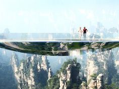China Plans for a Series of Disappearing Bridges  #architecture #design #imagination   http://www.architecturaldigest.com/story/china-plans-for-series-disappearing-bridges