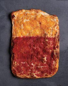 Unique Pizza Works of Art // Two-Tomato Pizza Recipe