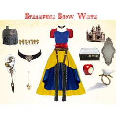 Steampunk Snow White by erulisse17 on Polyvore