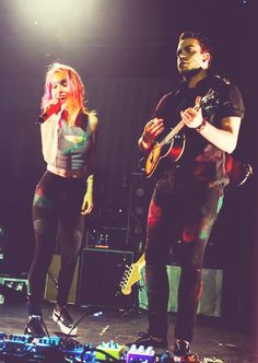 Hayley Williams & Taylor York