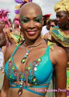 Carnaval in Jacmel South of Haiti.