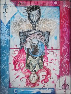 My vision of Ned and Catelyn after the first book. See detailed art in [link] Parting, failure, dishonor. Ned Stark, Game Of Thrones Art, Detail Art, Winter Is Coming, Fangirl, Nerd, House Stark, Deviantart, Gallery
