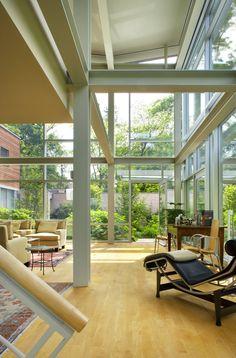 glass door indoor outdoor