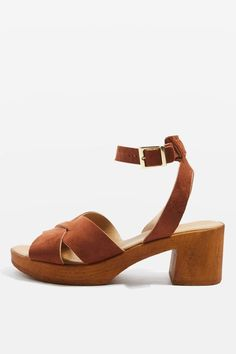 279999bfb827 DOLLY Two Part Sandals Mid Heel Sandals