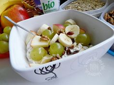 Fotorecept: Raňajková ovsená kaša What To Cook, Potato Salad, Ale, Potatoes, Vegetarian, Fruit, Cooking, Ethnic Recipes, Food