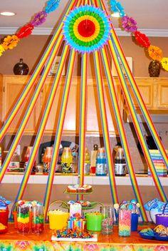"Photo 1 of 24: Rainbow / Birthday ""Rainbow Birthday Bash"""