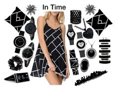 """""""In Time"""" by fatyba ❤ liked on Polyvore featuring moda, Carolina Glamour Collection, Avalaya, Monies, Calvin Klein, Georg Jensen, Anne Klein, Casetify, One Bella Casa y Universal Lighting and Decor"""