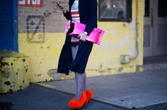 NYFW FALL 2013 STREET STYLE inspired