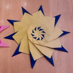 Origami Star Francesco Mancini Folded By Divya Iyer