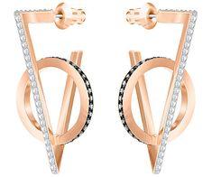 72b96b380 Swarovski 5354757 Multi-coloured, Rose gold plating Hero Pierced Earrings