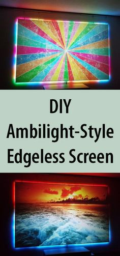 Ambilight enhances the television-watching experience. Save money and make one from scratch!