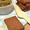 Sablés bio au sarrasin, noisettes & carvi...sans beurre, sans oeufs & à IG bas - Délices Cookie's