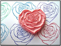 LOVE this rose heart stamp... would be sooo beautiful for making valentines <3