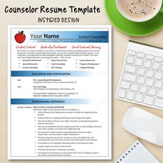 Counselor Resume TemplateFlag Design  Perfect Resume Flag