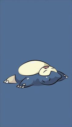 Snorlax - Pokemon - Sleep - Wallpaper - blue - Pokemon go Cool Pokemon Wallpapers, Pokemon Backgrounds, Cute Pokemon Wallpaper, Wallpaper Iphone Cute, Animes Wallpapers, Cartoon Wallpaper, Cute Wallpapers, Trendy Wallpaper, Phone Backgrounds