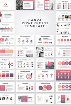 powerpoint Canva Business PowerPoint Presentation Template Clean, Creative and modern Presentation Template. Fully customisation & super easy to use to fit any kind of business use. Design Presentation, Business Presentation Templates, Business Plan Template, Presentation Folder, Marketing Presentation, Presentation Slides, Template Brochure, Powerpoint Design Templates, Keynote Template