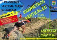 """I Km vertical Cerro de Sta. Brígida"" en Camas."