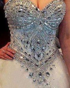 Wedding dress / corset