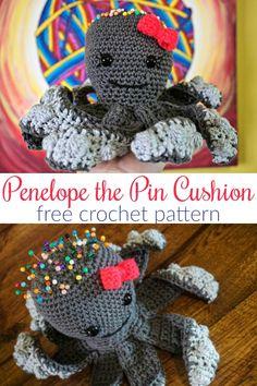 Penelope the Pin Cushion Free Crochet Pattern