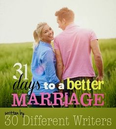 FREE!!! 31 days to a better marriage eBook
