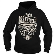 Awesome Tee Team BREAKFIELD Lifetime Member (Dragon) - Last Name, Surname T-Shirt T shirts