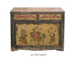 $1150 TV Stand Cabinet Mongolian Antique Hand Painted Buffet Table Awk2134  http://www.amazon.com/dp/B0052A08P0/ref=cm_sw_r_pi_dp_ZD2yqb0P7ATFK