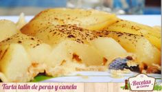 Tarta tatin de peras y canela, un clásico francés