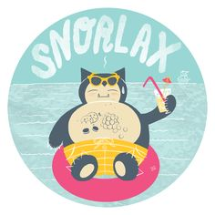 #143 Snorlax by This Paper Ship - Pokemon Battle Royal
