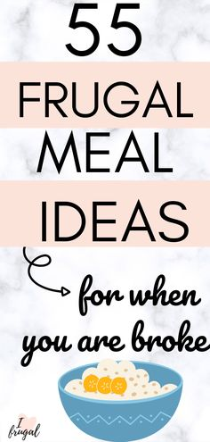 Frugal Meals, Cheap Meals, Budget Meals, Finance Quotes, Finance Books, Frugal Living Tips, Frugal Tips, Meal Ideas, Food Ideas