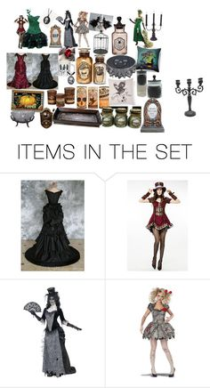"""""""halloween"""" by scarywoodwitch on Polyvore featuring art"""