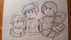 NG family - Coliel (sketch) by Squira130 on DeviantArt