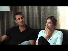 Divergent - Theo James & Shailene Woodley Interview (SDCC 2013)