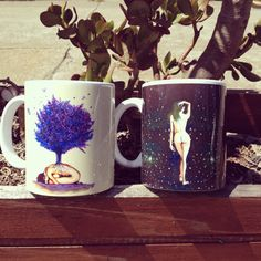 Mugs, Tableware, Artist, Dinnerware, Cups, Dishes, Mug, Artists, Tumbler