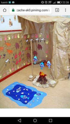 Preschool Art, Preschool Activities, Prehistoric Age, Magic Treehouse, Ice Age, Teaching History, Stone Age, Early Childhood, Archaeology