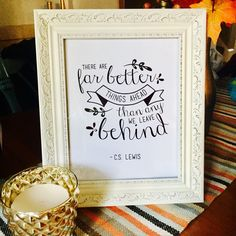 Framed my New Beginnings Quote Sign for a friend who just had a rough divorce and also bought her first home on her own. I thought this quote was so fitting for where she is in life and makes a great housewarming gift. Here's to great things ahead! <3 (Divorce Gifts)