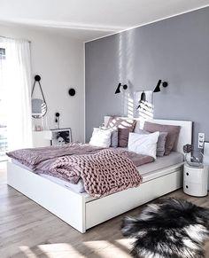 "4,728 Likes, 31 Comments - Scandinavian Homewares (@immyandindi) on Instagram: ""It's finally time for bed  - bedroom delight from @kajastef """