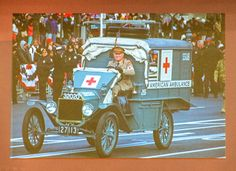 https://flic.kr/p/STrEqd | Sirens at the Front Line | George King driving his restored ambulance in France.  The stories of the American ambulance drivers in the Great War, a lecture by George King and Jeff Klinger.  See articles.courant.com/2013-04-15/community/hcrs-73522hc-ki... for more about George's Ford Ambulance restoration. See other scenes from the 2017 Lee Lecture Series at flic.kr/s/aHskSeUahL. (Photo credit Bob Gundersen - www.flickr.com/photos/bobphoto51/albums)
