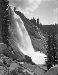 Nevada Fall The Lost Negatives, LLC By Ansel AdamsAnsel Adams.PHOTOGRAPHY More Pins Like This At FOSTERGINGER @ Pinterest