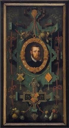 ПЕТЕР ПОУРБУС (PIETER POURBUS) (1523—1584) Portret van Christoffel Ghuyse (1560, Groeningemuseum Brugge )