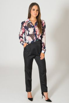 FINDERS KEEPERS ANYWHERE BUT HERE FLORAL BLOUSE available on shopfashtique.com