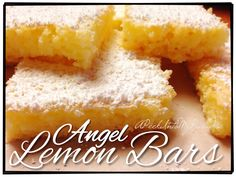 Angel Lemon Bars | A