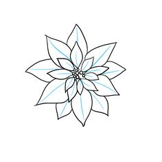 Learn to draw a poinsettia. This step-by-step tutorial makes it easy. Kids and beginners alike can now draw a great looking poinsettia. Christmas Poinsettia, Christmas Colors, Christmas Art, Christmas Tree Ornaments, Printable Christmas Coloring Pages, Flower Doodles, Beginner Painting, Pattern Drawing, Tole Painting