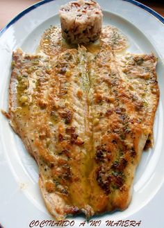Cocina – Recetas y Consejos Fish Dishes, Seafood Dishes, Fish And Seafood, Kitchen Recipes, Cooking Recipes, Healthy Recipes, Fish Recipes, Seafood Recipes, Spanish Dishes